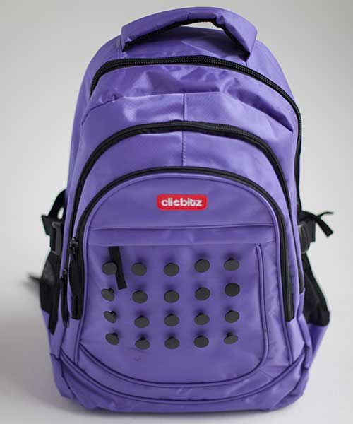 clicbitz-backpack-purple