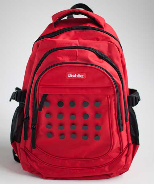 clicbitz-backpack-red